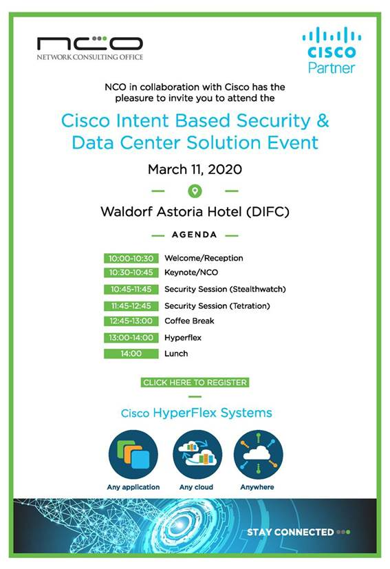 Cisco intent based security & data center solution